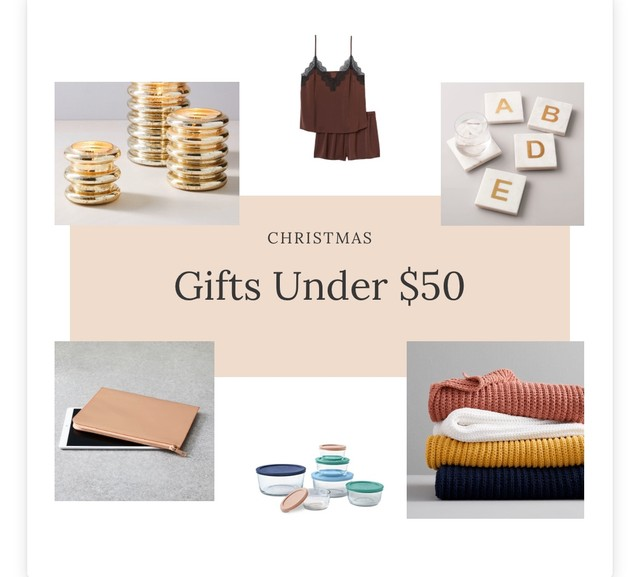 Blog Post – Gifts Under $50